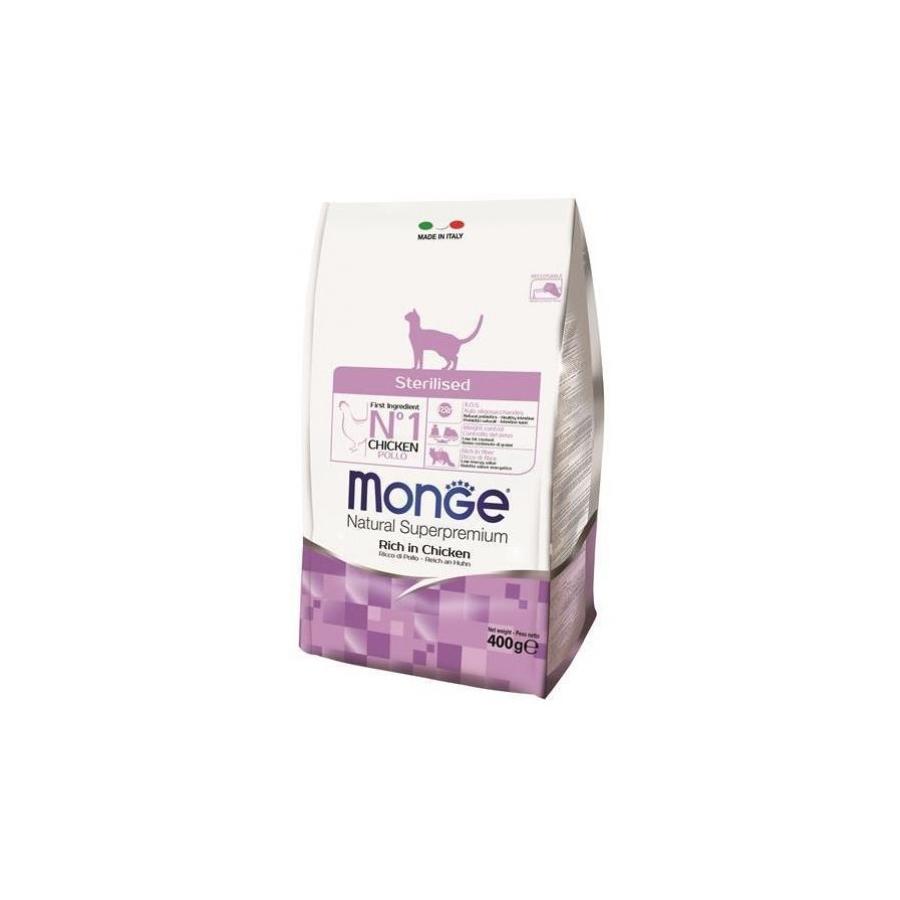 MONGE CAT GATTO STERILISED RICCO DI POLLO