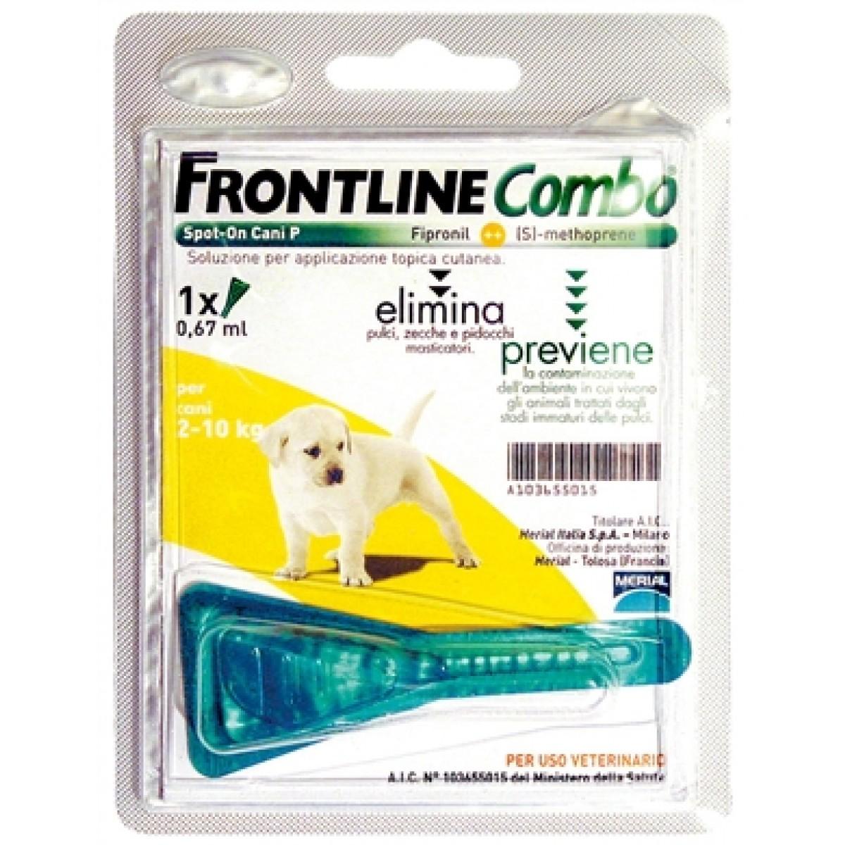 Frontline combo cucciolo cane 2-10Kg 1 pipetta