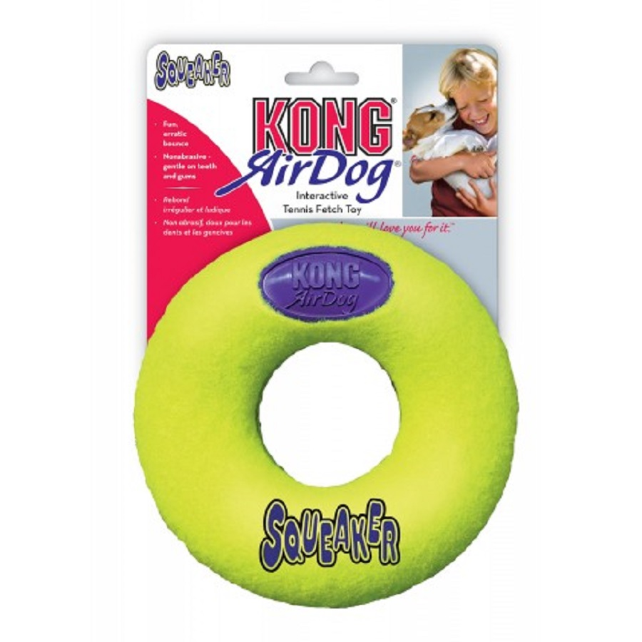 Gioco cani Air squeaker donut KONG