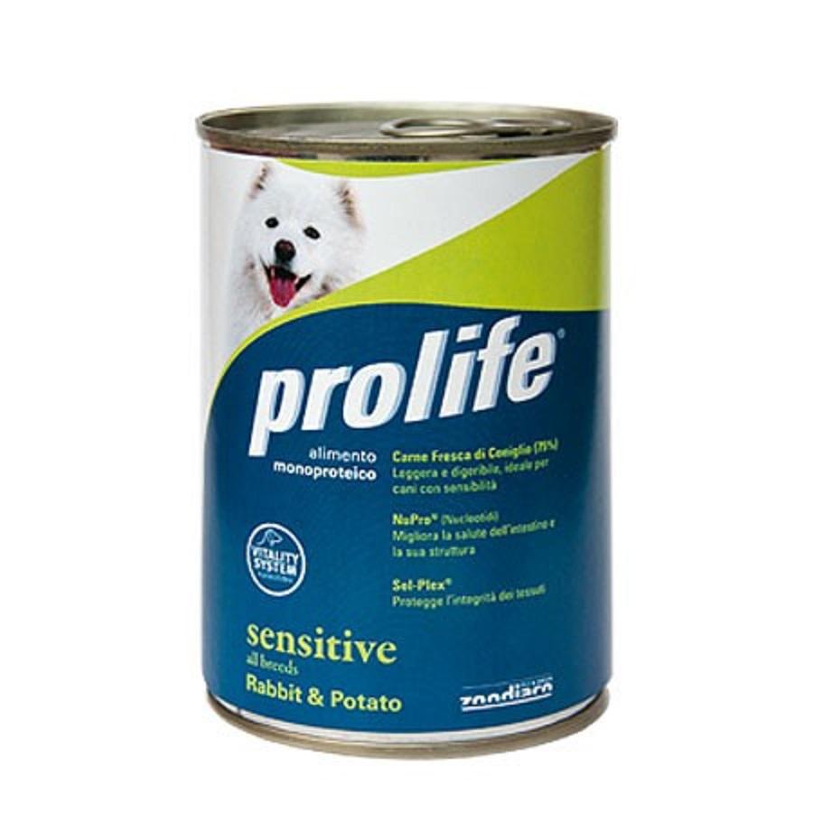 Prolife cane Lattina Sensitive 400 gr