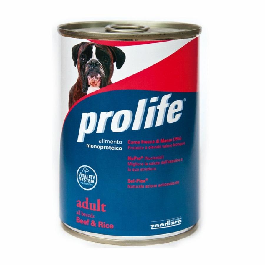 Prolife cane Lattina 400 gr