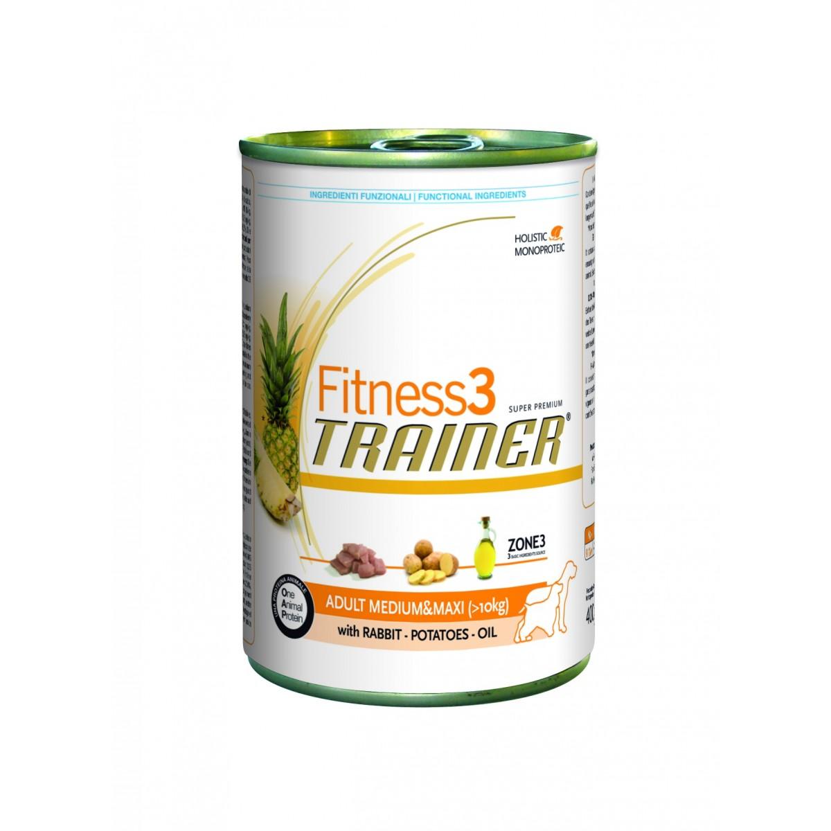 Fitness TRAINER cane Medium/Maxi lattina 400 GR